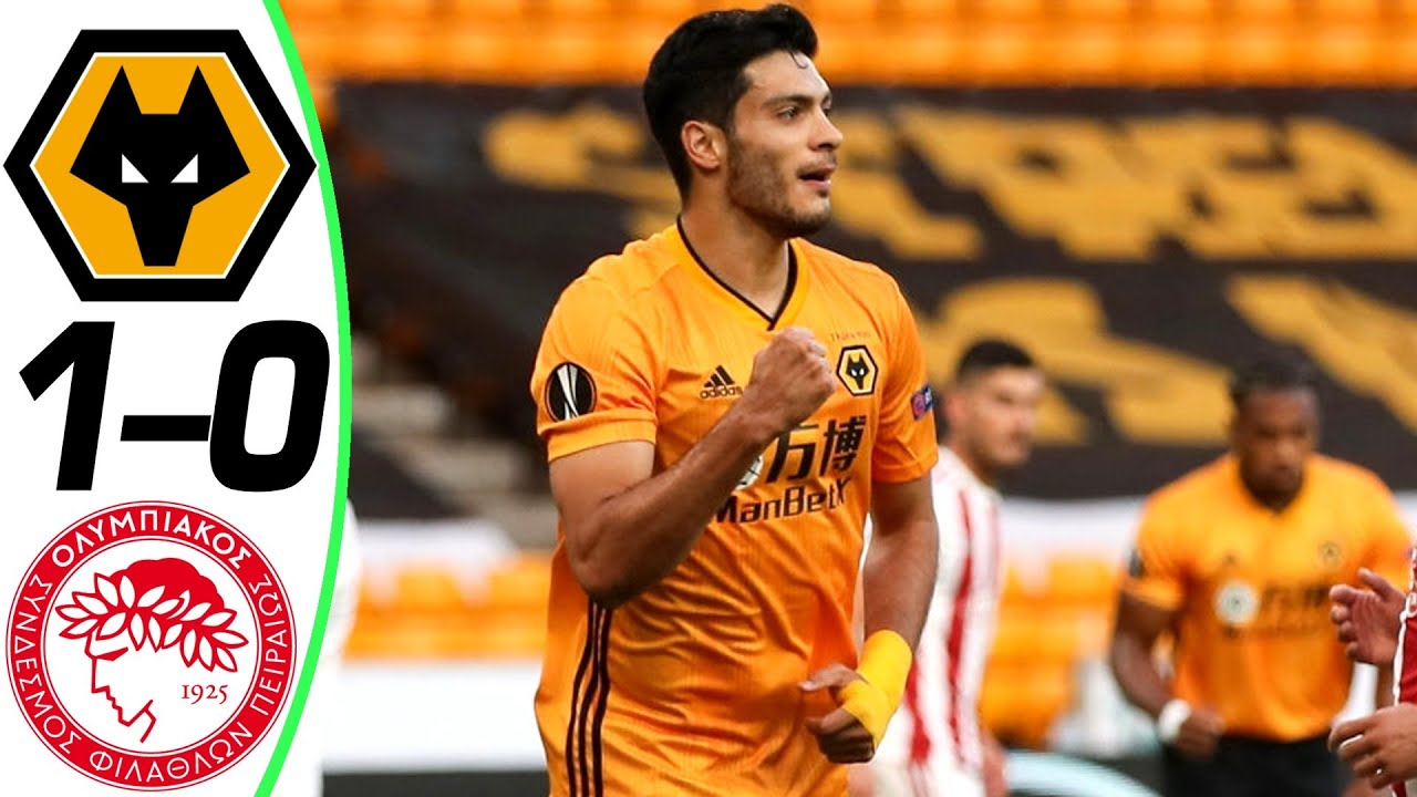 Wolverhampton Wanderers 1 Vs 0 Olympiakos Piraeus (UEFA Europa League) Highlights