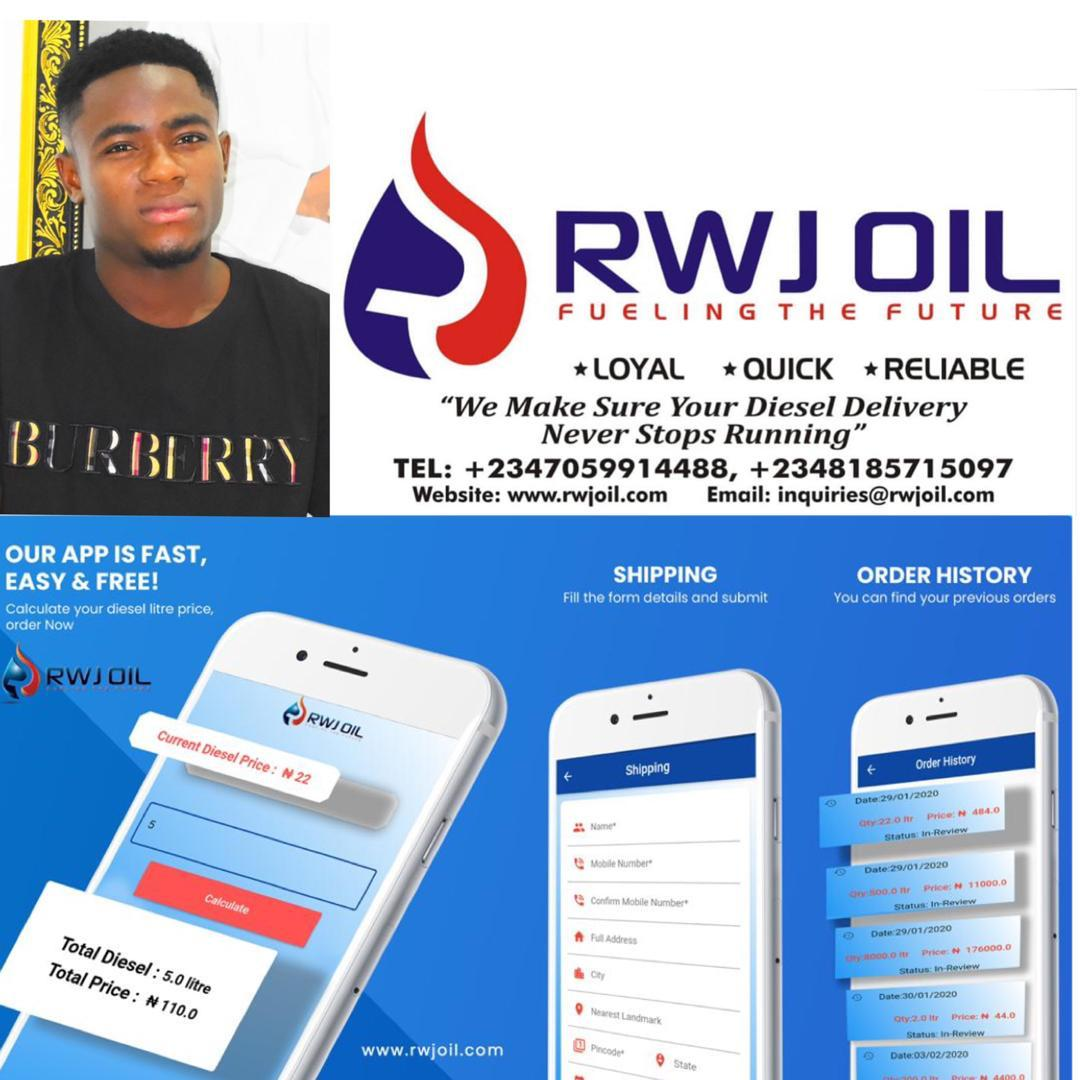 RJW Oil and Gas Limited lauches mobile app for customers