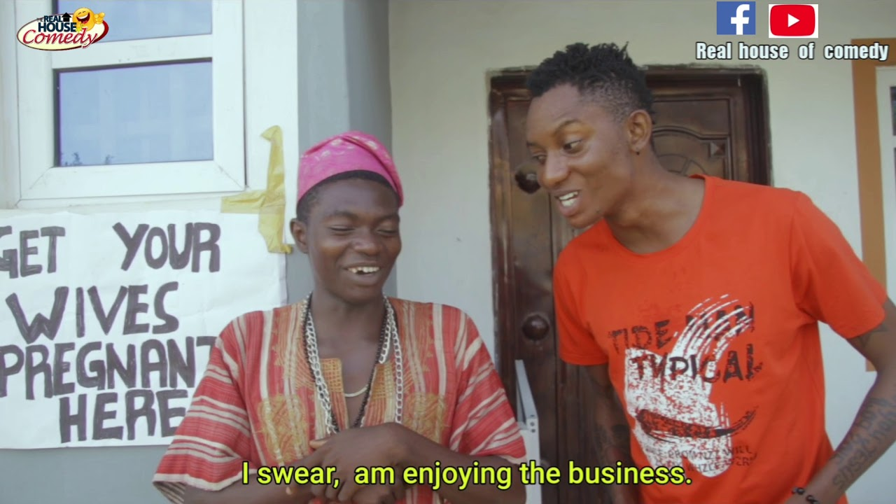 Real House of Comedy – Get your wives pregnant here (Comedy Video)