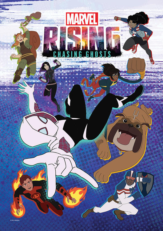 Marvel Rising: Chasing Ghosts (2019) (Animation)