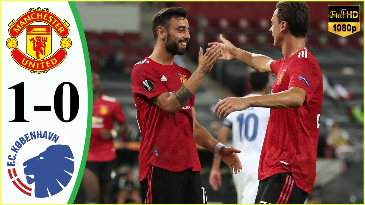 Manchester United 1 Vs 0 København (UEFA Europa League) Highlights