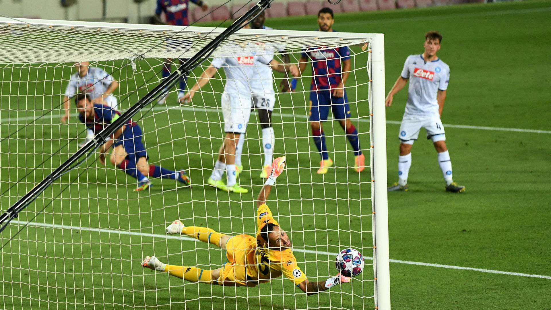 Barcelona 3 Vs 1 Napoli (Agg: 4 - 2) (Europa Champions League) Highlights