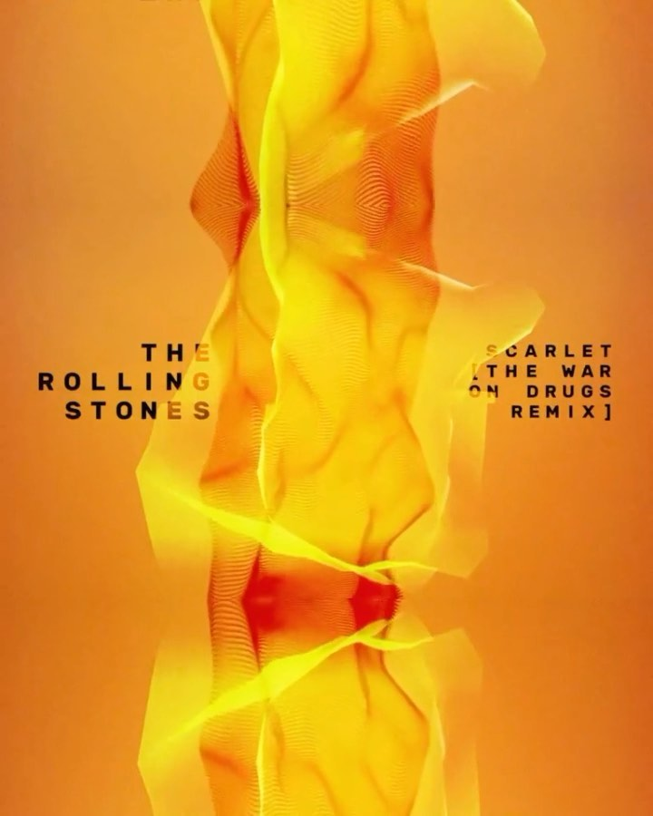 The Rolling Stones Ft. Jimmy Page — Scarlet (The War On Drugs Remix)