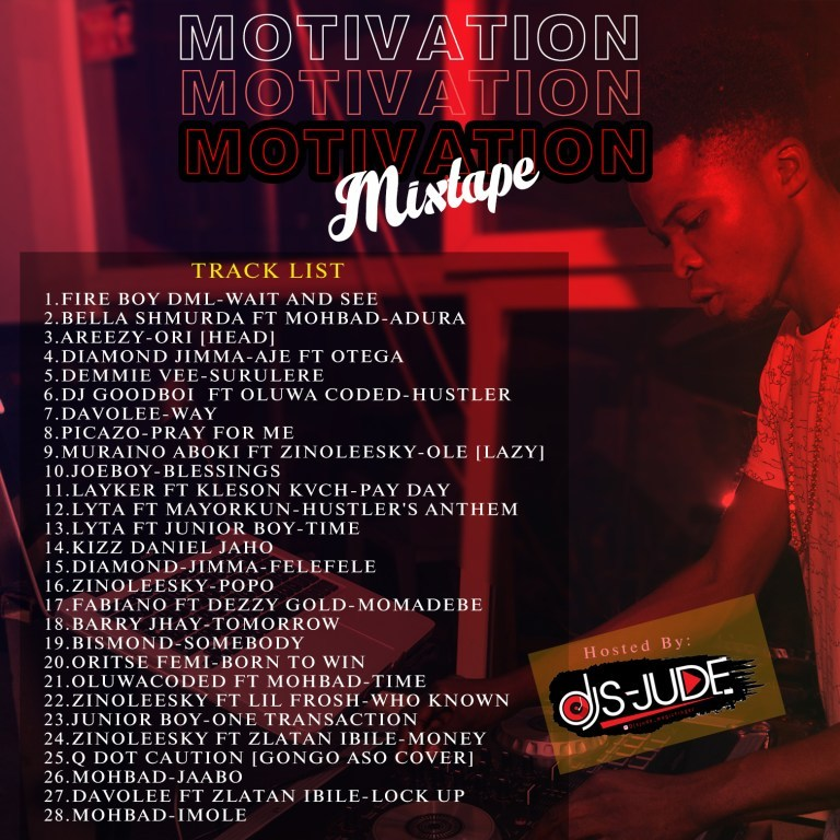 Dj S-Jude – Motivation Mixtape
